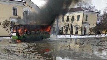 Харьковская маршрутка вспыхнула как спичка, все выгорело дотла: детали и кадры ЧП