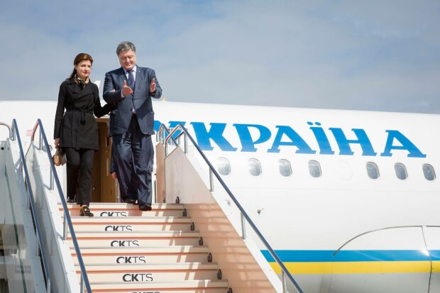 порошенко самолет