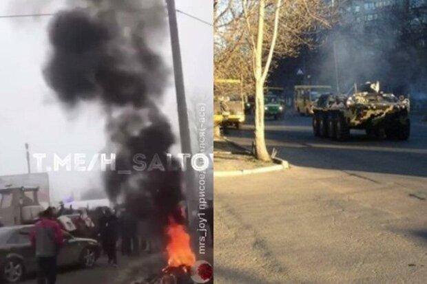 Зіткнення почалися через повернення українців із Китаю, стягують Нацгвардію: кадри атаки