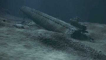 подводная лодка на дне