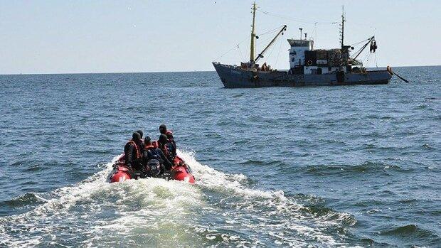 задержание украинского судна