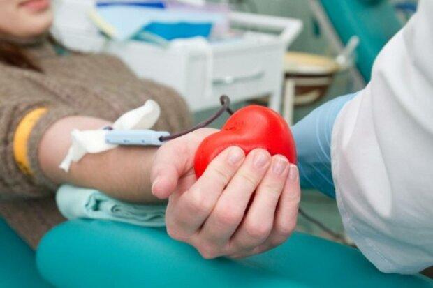 переливание крови, донор