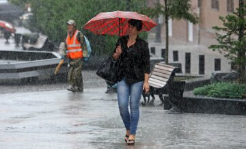 лето, погода, дождь