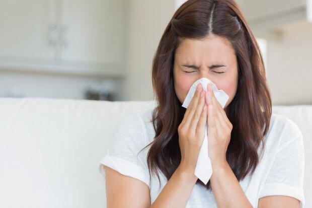 грипп, простуда, насморк