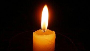 Свічка, горе, трагедія, траур