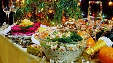 празднечный-новогодний-стол