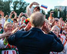 россияне, путин