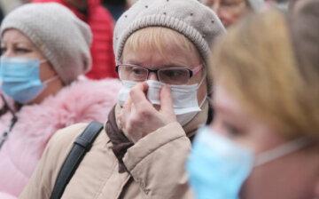 коронавирус, маски, украина, карантин