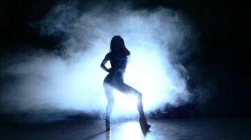 звезда, актриса, на сцене, силуэт, в тени, певица