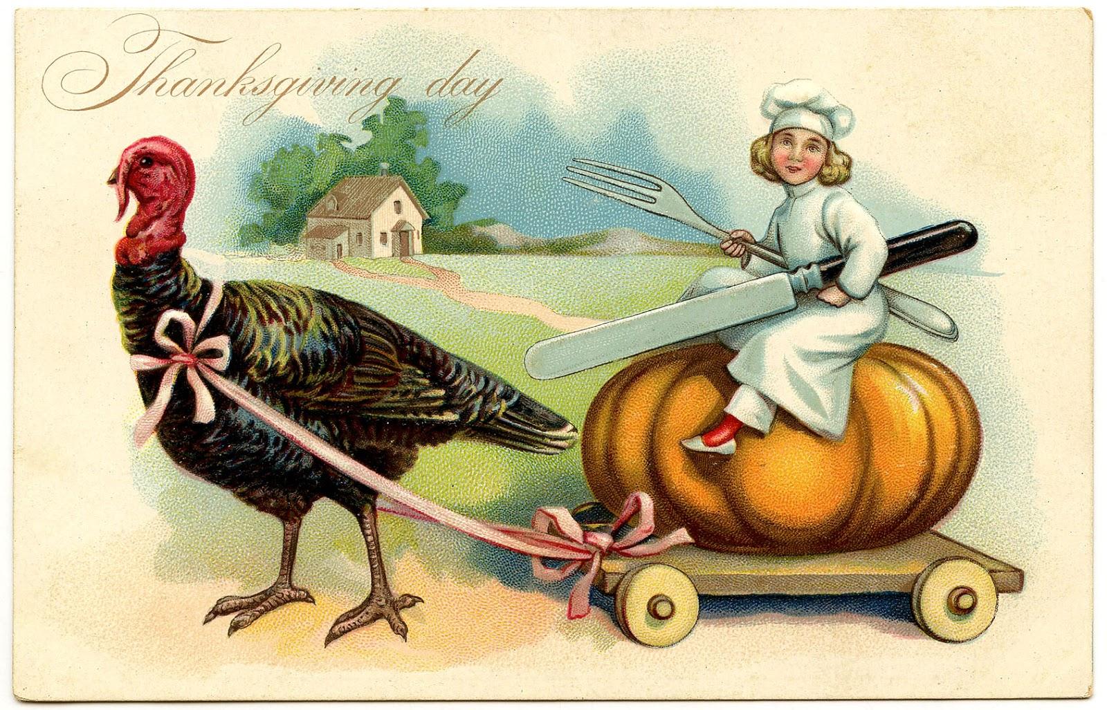 Открытки день благодарения в америке