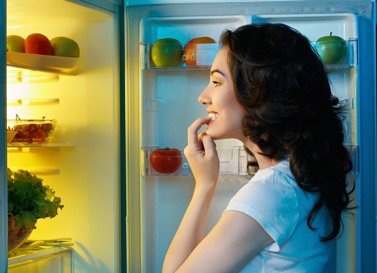 Похудение Холодильник Фото.