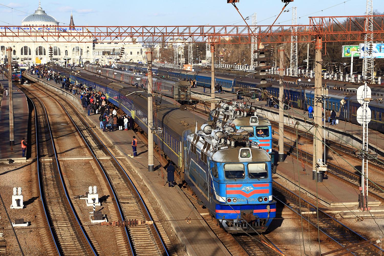 Поезда украины фото