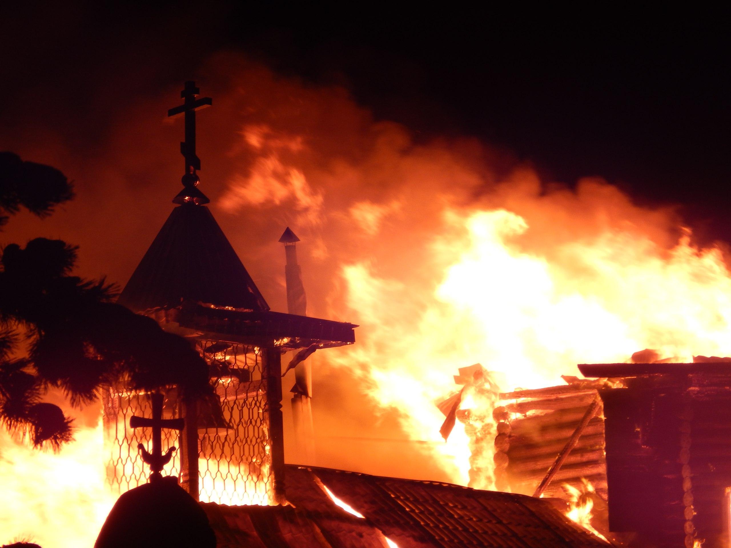 Картинки огни храма