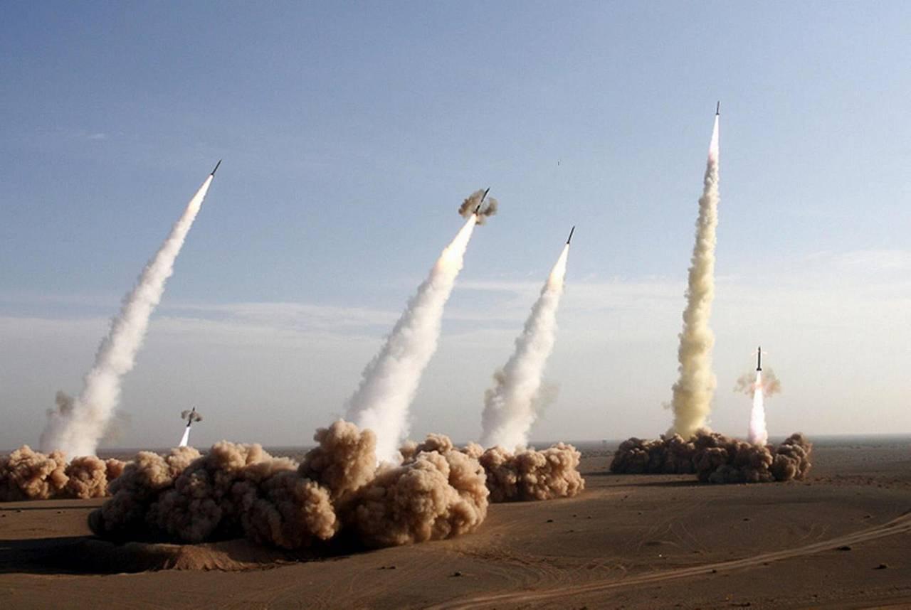 Ракеты взлетают в Израиле